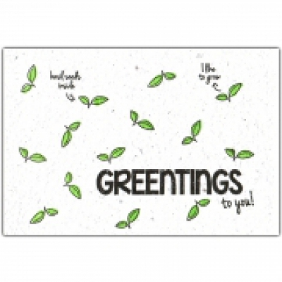 GREENTINGS to you!