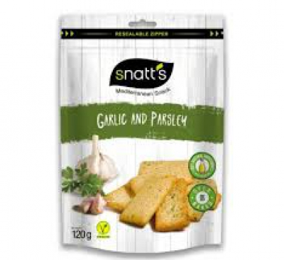 Snatt's Garlic and parsley -  120gr