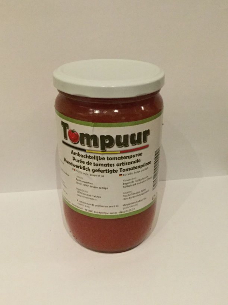 Tompuur Tomatenpuree 650 ml